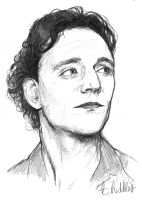 T. Hiddles by LittleBirdLouLou