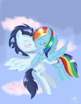 Up in the clouds 2 (Kiss) by Zorbitas