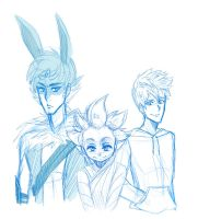 Rise of the guardians by NarumyNatsue