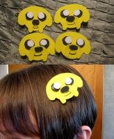 Jake Hair Clips by xxx-TeddyBear-xxx
