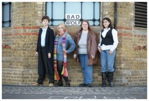 London Expo: Four Companions by teamTARDIS