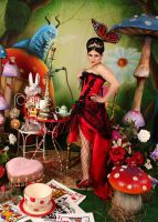 Pin Up Queen of Hearts 8 by ThePrincessNightmare