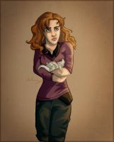 Pre DH kiss Hermione by Until-The-Dark