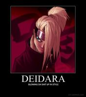 Deidara Motivational by Gorillaz90