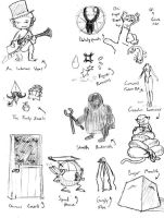 Many Monsters, part 2 by Gravidtron