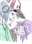 2D and Noodle Smile by DragonRiderofRohan
