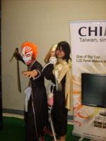 BLEACH - Ichigo and Rukia by The-White-Moon