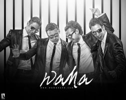 Wama - Black and White by mounir-designs