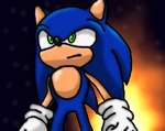 Sonic The Hedgehog art by supersilver27
