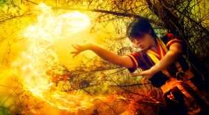 Aang's Firebending Teacher by RacoonFactory