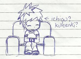 Kid Ichigo sketch by Komal08731