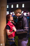 In Your Eyes-Claire Redfield and Leon S. Kennedy by Hamm-Sammich