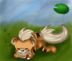 Request/Gift Caz939 - Growlithe by Acytpe