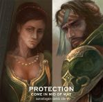 PROTECTION by sunsetagain