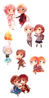 the only thing I do for free are chibis by v7-139