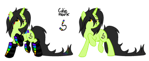 REFERENCE SHEET: Glowstick by iAPOCOLYPTIK