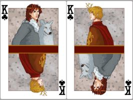 King of Clubs: Robb Stark x Joffrey Baratheon by SephyStabbity
