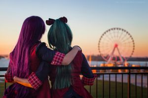 AKB0048: Fierce Friends by KoriStarfire