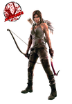 Lara Croft Render by JA-Renders