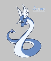 Azure the Dragonair by Tinnypants