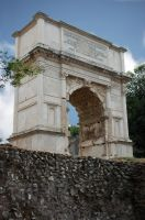 Rome - Arch of Titus 1 by Lauren-Lee