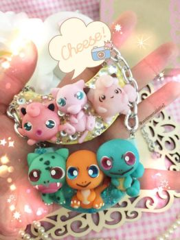 Pokemon mini statement necklace  by SentimentalDolliez