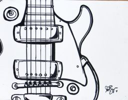 ELECTRIC GUITAR by artistkatelynne