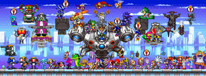 Sonic, Friends and Enemies by AfroSonic