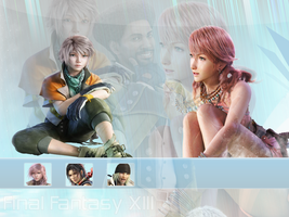 Final Fantasy XIII wallpaper by Masanohashi