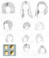 Assignment: Hair Practice by crtam4fun