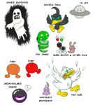 More EarthBound enemies by greliz