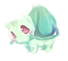 Bulbasaur Sketch by Leefuu