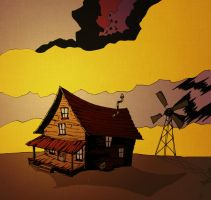Middle of Nowhere (Courage the Cowardly Dog) by PatheticMortal