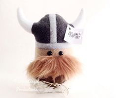 Stuffed Viking Warrior, Medium Pillow Doll Plush by Saint-Angel