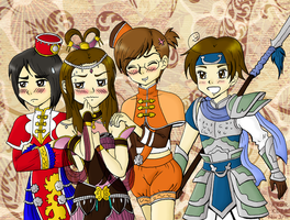 Hetalia Warriors by cutepiku