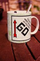 Monopoly Mug by BadgerJames