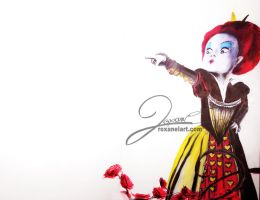 Red Queen by RoxaneLys