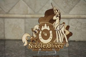 Nicole Oliver EFNW 2015 Plaque by Earth-Pony