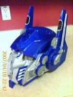 optimus helmet blue by TIMECON