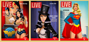 LiVE MAGAZINE COVERS by DESPOP