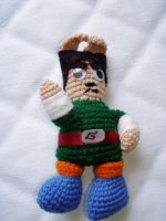 Rock Lee bunny by RatherGoth