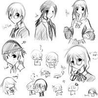 Manga Project Doodles by yana-chan