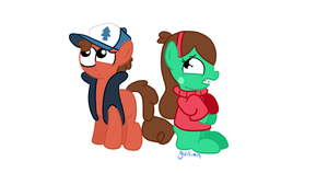 Gravity Falls Mlp by Melshow