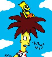 Sideshow Bob:What the? by sclirada