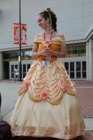 Belle's Finished Ballgown by AllenGale