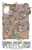 TMNT-teenage-mutant-ninja-turtles-derrick-fish by derrickfish