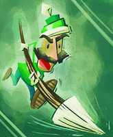 THE MAN IN GREEN by Altermentality