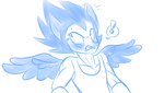 Vegeta Also Has Pony Ears and Wings by Petalierre