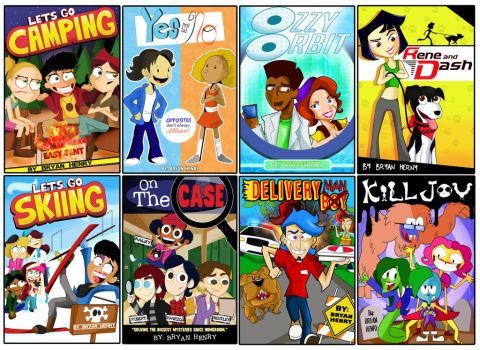 Children Book Cover Designs by xeternalflamebryx