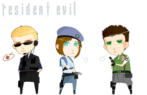 Resident Evil: Doll Set: 1 by compes
